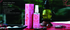 Mystic Indian Rose Water... Natural cleansing and toning... Prevents ageing too... Made with rose petal extract and spring water.. visit www.indiyra.com