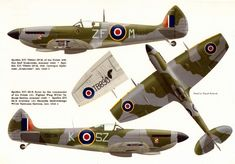 Navy Aircraft, Ww2 Aircraft, Fighter Aircraft, Military Aircraft, Fighter Jets, Ww2 Spitfire, Supermarine Spitfire, Airplane Painting, Airplane Art