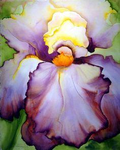 Georgia O'keef  Iris