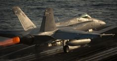 The Aviationist » Two Russian TU-142 Bears fly close to USS Reagan that launches four (armed) Hornets in response