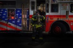 FDNY Oil Painting Canvas by ReburnDesigns on Etsy