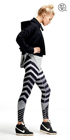 The cutest leggings-workout gear or just a casual day with Nikes :)