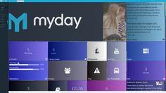 MyDay Userinterface