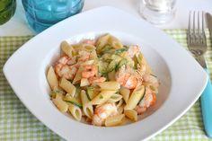 La pasta zucchine e gamberetti è uno dei miei primi piatti preferiti, oltre ai gamberetti aggiungo alla ricettaanche i gamberi per dare più sapore al piatto visto