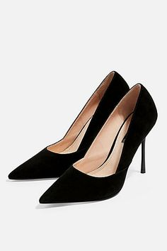 df00594155 22 best Black Court Shoes images | Denim fashion, Moda femenina ...