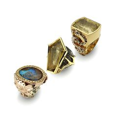 K. Brunini Jewels › Objects Organique Nature Inspired Jewelry Collection