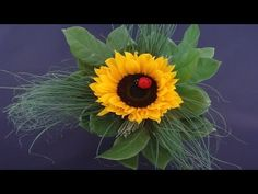 Sonnenblumenstrauß selber machen nach Anleitung | flora-shop.eu