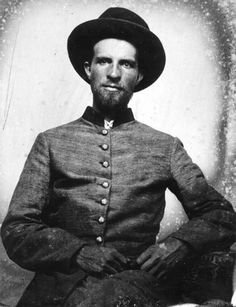 Captain George C Moore of the 4th Tennessee Cavalry