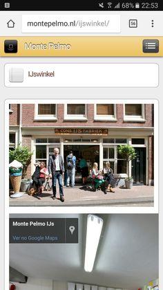 """Monte Pelmo Ijs - melhor sorveteria de Amsterdam, segundo """"Vida Laranja"""" num stories. Sempre com fila no verão e primavera."""