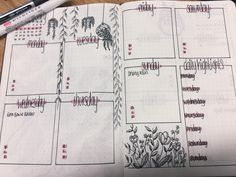 Another February spread ready for next week! : bulletjournal