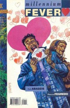 Millennium Fever #1 • Octubre 1995 Portada: Duncan Fegredo