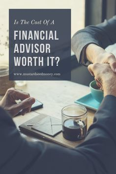 Typically financial advisors take 1% of your portf…