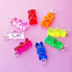 Only $11 for a gummy bear charm! If only I had my credit card handy I'd order a bunch of theses!!!