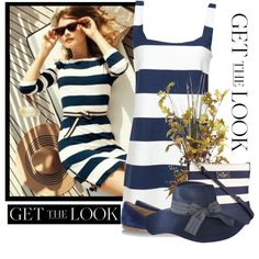 get the look stripes, created by countrycousin on Polyvore