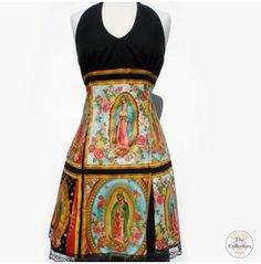 Handmade Pinup And Rockabilly Guadalupe Dress