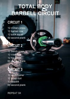 Total Body Barbell Circuit | Experiments In Wellness