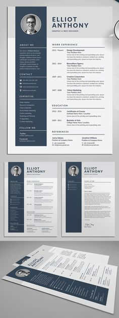 Minimal Resume/CV template to help you land that great job. Template Cv, Resume Cover Letter Template, Resume Design Template, Resume Templates, Resume Outline, Job Cover Letter, Cover Letter Design, Cover Letter Example, Cover Letters