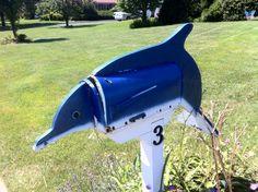 Dolphin mailbox-farmingville L.I. -sven vik