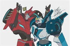 Image result for transformers RID anime art