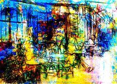 abstrakte ,Malerei ,  Fotografie , moderne Bilder,großformatig, Onlineshop,Natur,Landschaft,dramfolistisch,,Eggstein, moderne,Acrylmalerei, menschen ,,ausstellung,kunst,cafe,cafeszene,
