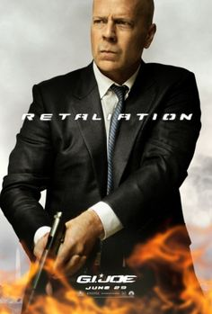 Bruce Willis and more character posters of #GIJOE2 #RETALIATION