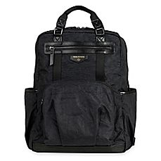 image of TWELVElittle Unisex Courage Backpack Diaper Bag in Black