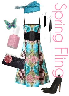 Spring outfit inspiration from Hearts and Laserbeams. Cute Easter outfit!