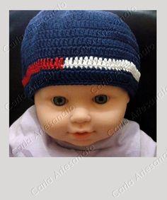 Touca para bebê crochet