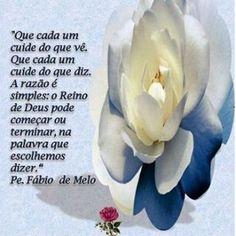 Pe. Fabio de Melo:'Cada um cuidem do que vê...' #frase #deus #padrefabiodemelo…