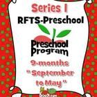 RFTS-Preschool (Early Learning PreK Program Package) September - May = 9 months of teaching materials.  1398 Pages total. Includes September to May complete lessons.  http://www.teacherspayteachers.com/Product/RFTS-Preschool-Early-Learning-PreK-Program-Package-September-May-711772