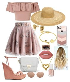 """""""Untitled #523"""" by alexandria-nightshade ❤ liked on Polyvore featuring Miss Selfridge, Boohoo, Schutz, Linda Farrow, Disney, Chicwish, Belk & Co., Essie, Lime Crime and Casetify"""