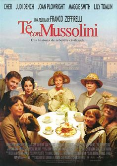 Tea with Mussolini Movie poster USA 1999 Cher Judi Dench frame on your wall! Movie To Watch List, Tv Series To Watch, Good Movies To Watch, Movie List, Series Movies, Great Movies, Cinema Movies, Film Movie, Period Drama Movies