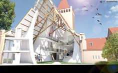 Transformation of the Theresiakerk in Apeldoorn by agNOVA architects