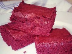 Red Velvet Brownies  #Superbowl | G-Free Foodie #GlutenFree