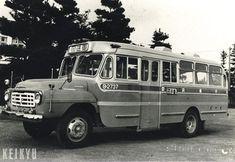 昭和38年頃の乗合バス(フロントエンジン車)