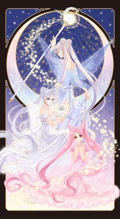 Sailor Moon Stars, Sailor Moon Crystal, Sailor Moon Y Darien, Cristal Sailor Moon, Sailor Moon Girls, Arte Sailor Moon, Sailor Moon Fan Art, Sailor Moon Usagi, Sailor Pluto