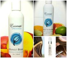 Shower gel, Shampoo  Conditioner by Essante Organics  www.essanteorganics.com/healthybeginnings