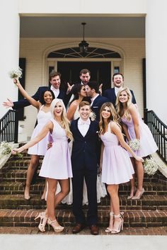 I love the bridesmaid dresses!!