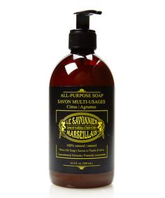 Another great find on #zulily! Citrus All-Purpose Liquid Soap #zulilyfinds