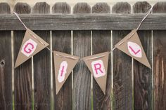 Baby Shower Banner Bunting Banner by Little1Paperie on Etsy