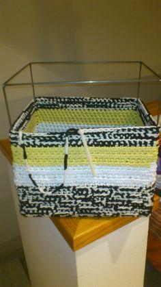 nueva caja trapillo tricolor
