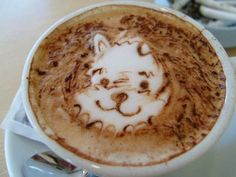 Winnie the Pooh Coffee Art