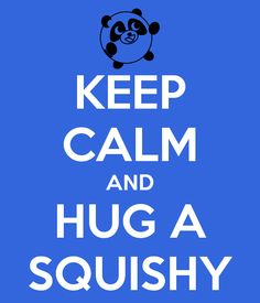 """Reminds me of all of the Doctor Who """"Keep Calm and Don't Blink"""" things and shirts. #squishable #cutengeeky"""