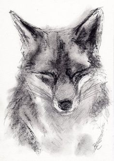 Charcoal Drawing of a FOX by by BelindaElliottArt. Just something about this one that i Charcoal Drawing of a FOX by by BelindaElliottArt. Animal Drawings, Pencil Drawings, Art Drawings, Drawings Of Love, Hipster Drawings, Drawing Animals, Drawing Faces, Manga Drawing, Art Fox