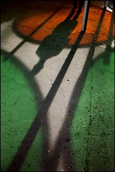 Harry Gruyaert - FRANCE. Paris. Shadows and reflections. 2012.