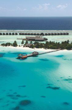 Aerial view of LUX* Maldives. #island #photo #hotel http://www.luxresorts.com/en/hotel-maldives/luxmaldives