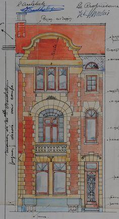 Schaerbeek - Rue Van Hammée 53, 55, 57, 59, 61 - Rue Albert de Latour 60, 62, 64, 66, 68 - BARTHOLEYNS René