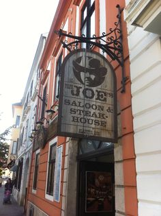 Sopron Hungary, Papa Joes has excellent steaks!