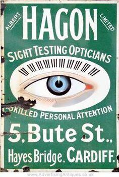 Albert Hagon Ltd., Sight Testing Opticians, Hayes Bridge, Cardiff