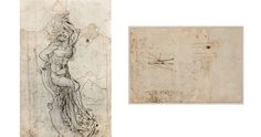 A drawing, from around that a Metropolitan Museum of Art curator says is by Leonardo da Vinci. An auction house values it at million Les Oeuvres, Discovery, Vintage World Maps, Images, Auction, Clock, Metropolitan Museum, Saint, Euro